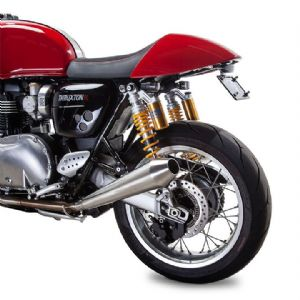 PREDATOR PRO™ FOR THRUXTON 1200R BC902-100-BR. Brushed Stainless. By British Customs.